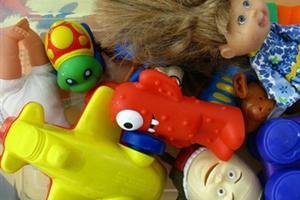 Recogida de juguetes usados las palmas