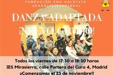 Neuropsicodanza. voluntariado danza adaptada.