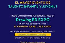 Voluntarios para drawing ed 2017, mayor evento de innovación educativa en españa