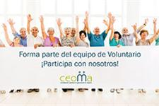 Voluntario/as para ong de mayores