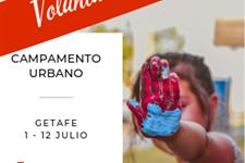 Monitores/as campamento urbano - julio - getafe